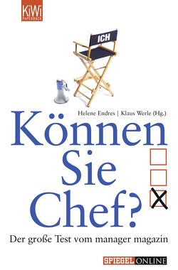 Können Sie Chef? von Endres,  Helene, Werle,  Klaus