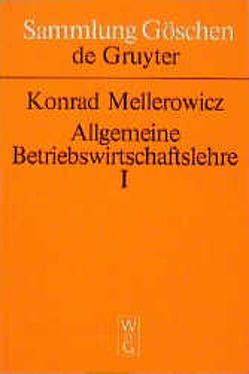 Konrad Mellerowicz: Allgemeine Betriebswirtschaftslehre / Konrad Mellerowicz: Allgemeine Betriebswirtschaftslehre. Band 1 von Mellerowicz,  Konrad