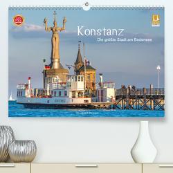 Konstanz – die größte Stadt am Bodensee (Premium, hochwertiger DIN A2 Wandkalender 2021, Kunstdruck in Hochglanz) von Di Domenico,  Giuseppe