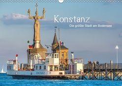 Konstanz – die größte Stadt am Bodensee (Wandkalender 2018 DIN A3 quer) von Di Domenico,  Giuseppe