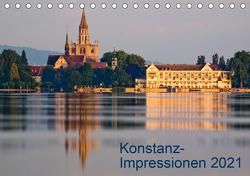 Konstanz-Impressionen (Tischkalender 2021 DIN A5 quer) von Jaenecke,  Sven