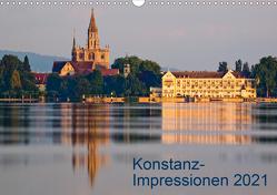 Konstanz-Impressionen (Wandkalender 2021 DIN A3 quer) von Jaenecke,  Sven