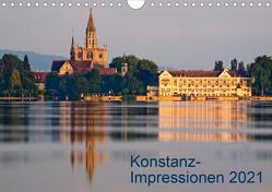 Konstanz-Impressionen (Wandkalender 2021 DIN A4 quer) von Jaenecke,  Sven