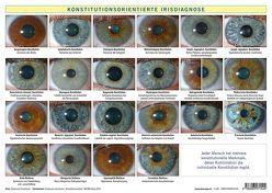 Konstitutionsorientierte Irisdiagnose von Garvelmann,  Friedemann