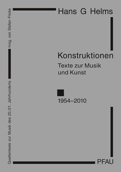 Konstruktionen von Helms,  Hans G