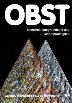 Konstruktionsgrammatik und Mehrsprachigkeit von De Knop,  Sabine, Erfurt,  Jürgen