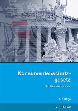 Konsumentenschutzgesetz von proLIBRIS VerlagsgesmbH