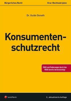 Konsumentenschutzrecht (Skriptum) von Donath,  Guido