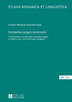 Kontaktanzeigen kontrastiv von Pereira-Koschorreck,  Vivian