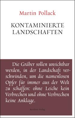 Kontaminierte Landschaften von Pollack,  Martin