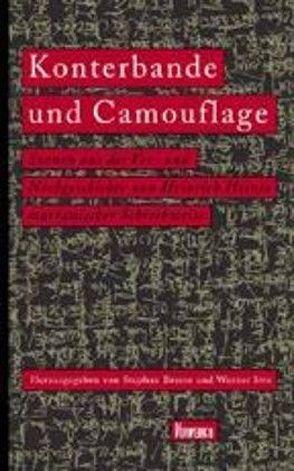 Konterbande und Camouflage von Braese,  Stephan, Irro,  Werner, Koebner,  Thomas, Mosès,  Stephane, Weigel,  Sigrid