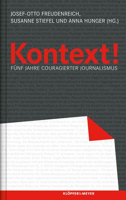 Kontext! von Freudenreich,  Josef-Otto, Hunger,  Anna, Stiefel,  Susanne