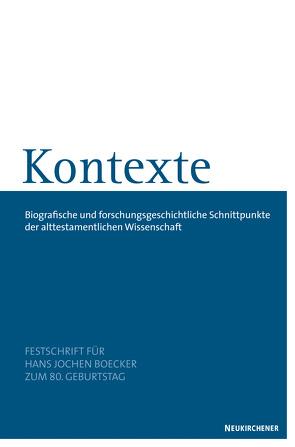 Kontexte von Erlemann,  Kurt, Vieweger,  Dieter, Wagner,  Thomas
