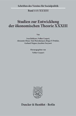 Kontinuität und Wandel in der Institutionenökonomie. von Caspari,  Volker