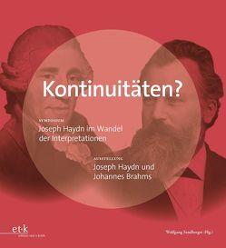 Kontinuitäten? von Sandberger,  Wolfgang