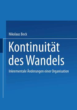 Kontinuität des Wandels von Beck,  Nikolaus