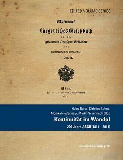 Kontinuität im Wandel von Barta,  Heinz, Lehne,  Christine, Niedermayr,  Monika, Schennach,  Martin
