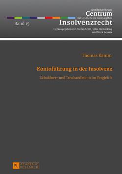Kontoführung in der Insolvenz von Kamm,  Thomas