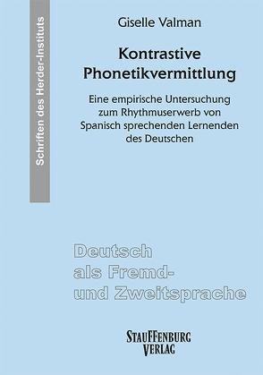 Kontrastive Phonetikvermittlung von Valman,  Giselle