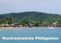 Kontrastreiche Philippinen (Tischkalender 2019 DIN A5 quer) von Rudolf Blank,  Dr.
