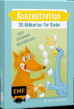 Konzentration – 30 Bildkarten für Kinder von Clement,  Ina, Pichler,  Sandra