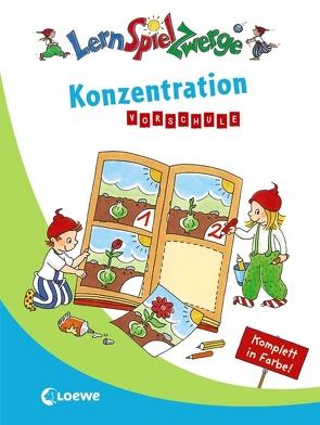 Konzentration Vorschule von Carstens,  Birgitt