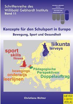 Konzepte für den Schulsport in Europa von Richter,  Christiane