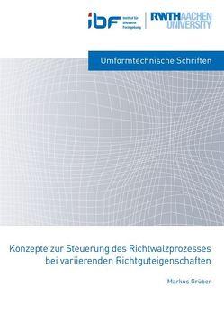 Konzepte zur Steuerung des Richtwalzprozesses bei variierenden Richtguteigenschaften von Grüber,  Markus