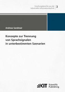 Konzepte zur Trennung von Sprachsignalen in unterbestimmten Szenarien von Sandmair,  Andreas
