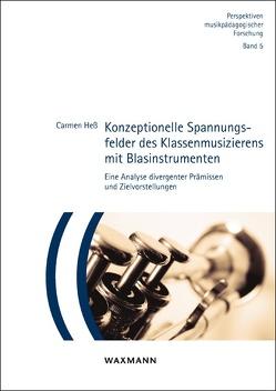 Konzeptionelle Spannungsfelder des Klassenmusizierens mit Blasinstrumenten von Heß,  Carmen