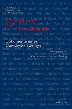 Konzeptionen der Kunstdidaktik von Bering,  Cornelia, Bering,  Kunibert