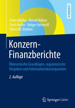 Konzern-Finanzberichte von Hüfner,  Bernd, Keller,  Erich, Ketteniß,  Holger, Möller,  Peter, Viethen,  Heinz W.
