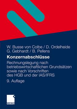 Konzernabschlüsse von Busse von Colbe,  Walther, Gebhardt,  Günther, Ordelheide,  Monika, Pellens,  Bernhard