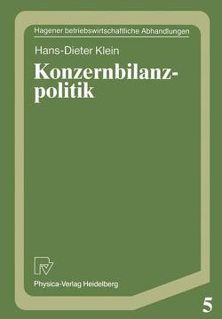 Konzernbilanzpolitik von Klein,  Hans-Dieter