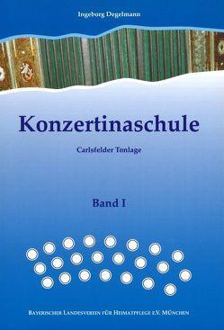 Konzertinaschule – Band 1 von Degelmann,  Ingeborg