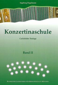Konzertinaschule – Band 2 von Degelmann,  Ingeborg