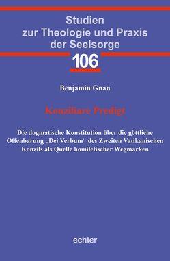 Konziliare Predigt von Gnan,  Benjamin