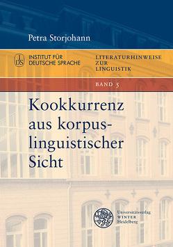 Kookkurrenz aus korpuslinguistischer Sicht von Storjohann,  Petra