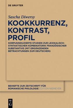 Kookkurrenz, Kontrast, Profil von Diwersy,  Sascha