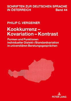 Kookkurrenz – Kovariation – Kontrast von Vergeiner,  Philip C.