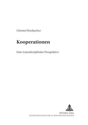 Kooperationen von Rissbacher,  Christof