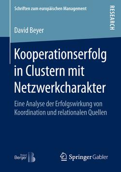 Kooperationserfolg in Clustern mit Netzwerkcharakter von Beyer,  David