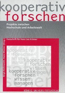 Kooperativ forschen von Meister,  Hans, Rossmanith,  Birgit