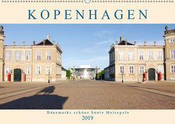 Kopenhagen. Dänemarks schöne bunte Metropole (Wandkalender 2019 DIN A2 quer) von M. Laube,  Lucy