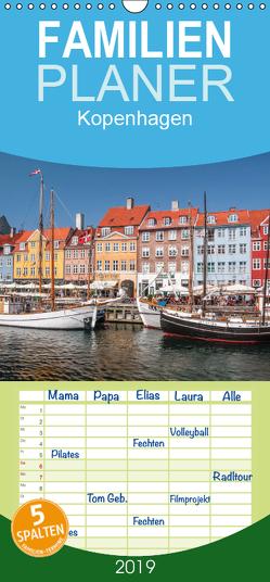 Kopenhagen – Familienplaner hoch (Wandkalender 2019 , 21 cm x 45 cm, hoch) von Mueringer,  Christian