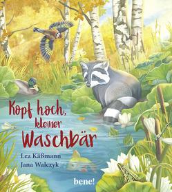Kopf hoch, kleiner Waschbär – ein Bilderbuch für Kinder ab 2 Jahren von Käßmann,  Lea, Walczyk,  Jana