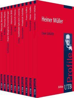 Köpfe der Europäischen Geistesgeschichte – Schriftsteller von Schütte,  Uwe