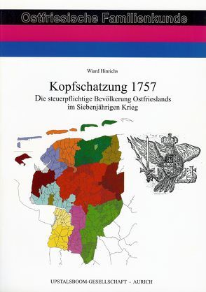 Kopfschatzung 1757 von Hinrichs,  Wiard