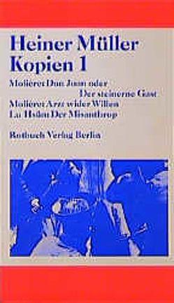 Kopien I von Müller,  Heiner
