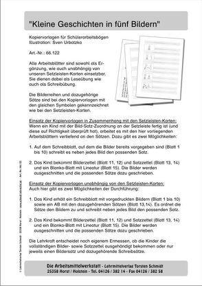 """Kopiervorlagen """"Kleine Geschichten in fünf Bildern"""" von Schmidt,  Torsten"""